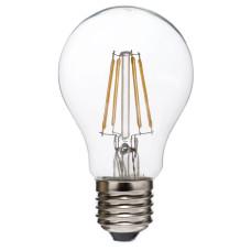 Лампа светодиодная филамент (Filament) A60 E 27, 6 Вт. прозрачная