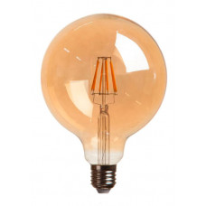 Лампа светодиодная G125 E27 230V 3000K 10W bronze - Strong Led Light