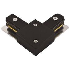 Коннектор угловой LD1001 черный 10321