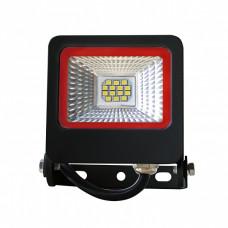 EUROLAMP LED SMD Прожектор чорний з радіатором NEW 10W 6500K