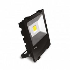 EUROELECTRIC LED SMD Прожектор чорний з радіатором 100W 6500K (6)