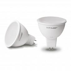 """EUROLAMP LED Лампа ЕКО серія """"Е"""" dimmable MR16 5W GU5.3 4000K (50)"""