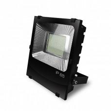 EUROELECTRIC LED SMD Прожектор чорний з радіатором 200W 6500K (4)