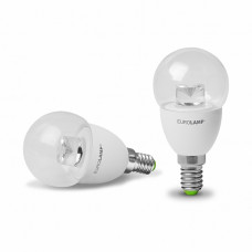 "EUROLAMP LED Лампа ЕКО серія ""D"" G45 прозора 5W E14 3000K"