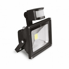 EUROELECTRIC LED COB Прожектор з датчиком руху 10W 6500K