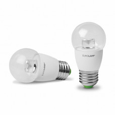"EUROLAMP LED Лампа ЕКО серія ""D"" G45 прозора 5W E27 3000K"