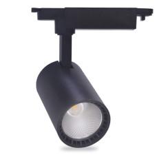 Трековый светильник Feron AL102 12W черный 29616
