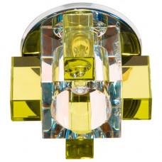 Встраиваемый светильник Feron C1037 желтый 19639