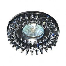 Встраиваемый светильник Feron CD2540 прозрачный серый 18927