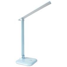 Настольный светодиодный светильник Feron DE1725 голубой 24230