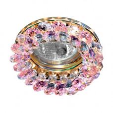 Встраиваемый светильник Feron CD4141 розовый золото 19931