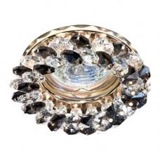 Встраиваемый светильник Feron CD4141 серый золото 19949