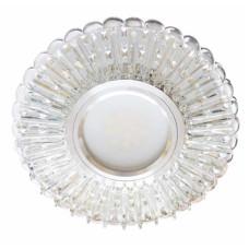 Встраиваемый светильник Feron 7312B с LED подсветкой 28857