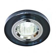 Встраиваемый светильник Feron 8060-2 серый серебро 20090