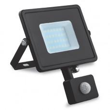 Светодиодный прожектор Feron LL-906 20W с датчиком движения 29556