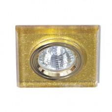 Встраиваемый светильник Feron 8170-2 мерцающее золото-золото 20093