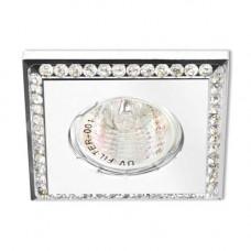 Встраиваемый светильник Feron DL102-W прозрачный белый 28446