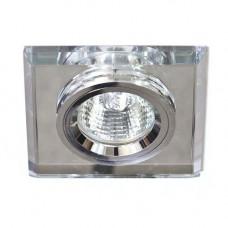 Встраиваемый светильник Feron 8170-2 серебро-серебро 20126