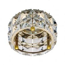 Встраиваемый светильник Feron CD4527 прозрачный золото 28195