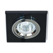 Встраиваемый светильник Feron 8170-2 серый серебро 20095