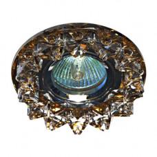 Встраиваемый светильник Feron CD2542 прозрачный чайный 18928