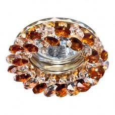 Встраиваемый светильник Feron CD4141 коричневый золото 19929