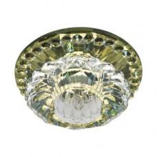 Встраиваемый светильник Feron JD125 прозрачный желтый 28131