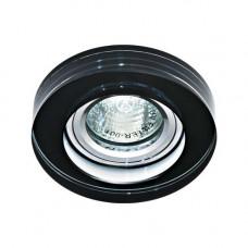 Встраиваемый светильник Feron 8080-2 черный 20099