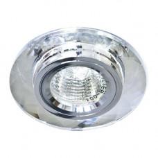 Встраиваемый светильник Feron 8050-2 серебро серебро 20112