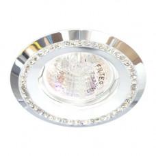 Встраиваемый светильник Feron DL103-W прозрачный белый 28448
