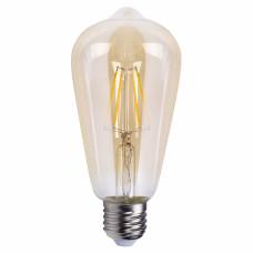 Светодиодная лампа Feron LB-764 ST64 золото 4W E27 2700K EDISON 25857