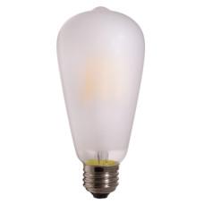 Лампа светодиодная филамент (Filament) ST64 Е27 7,5 Вт. матовая