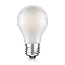 Лампа светодиодная филамент (Filament) A60 E 27, 6 Вт. матовая