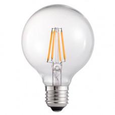 Лампа светодиодная филамент (Filament) G80 E27, 4 Вт.