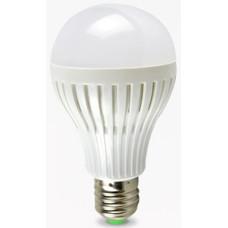 Лампа светодиодная A60 5W E27 в пластиковом корпусе